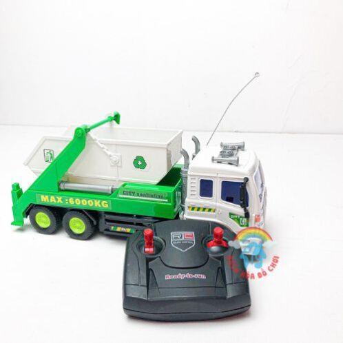 xe-rác-điều-khiển