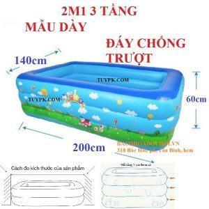 Bể bơi phao 2m1
